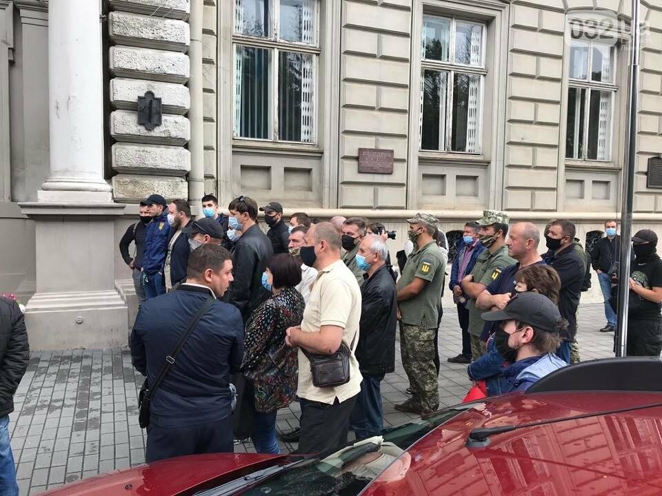 Пікет Координаційної Ради УБД біля ЛОДА, фото 032.ua