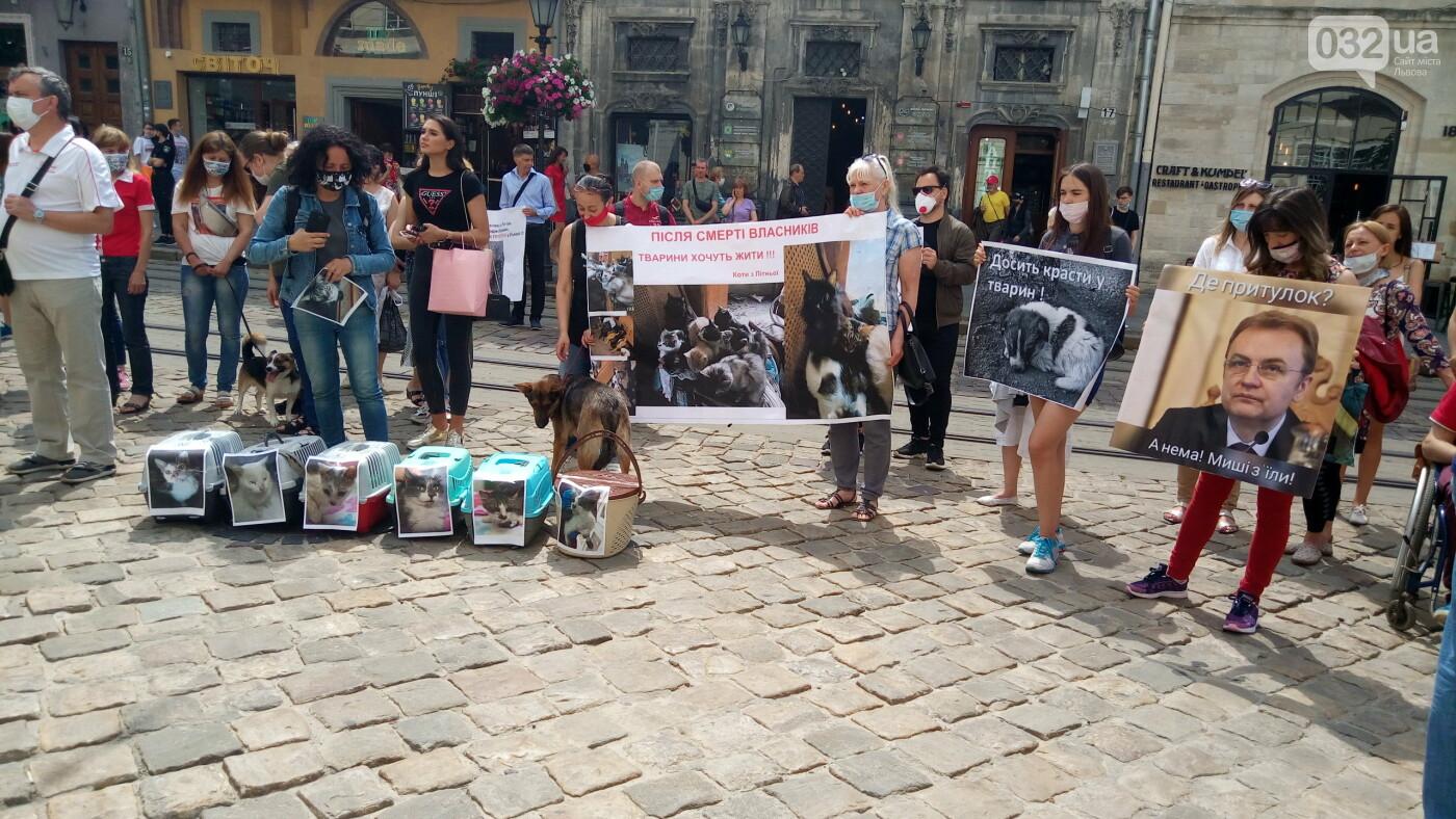 Фото з акції на площі Ринок, 032.ua