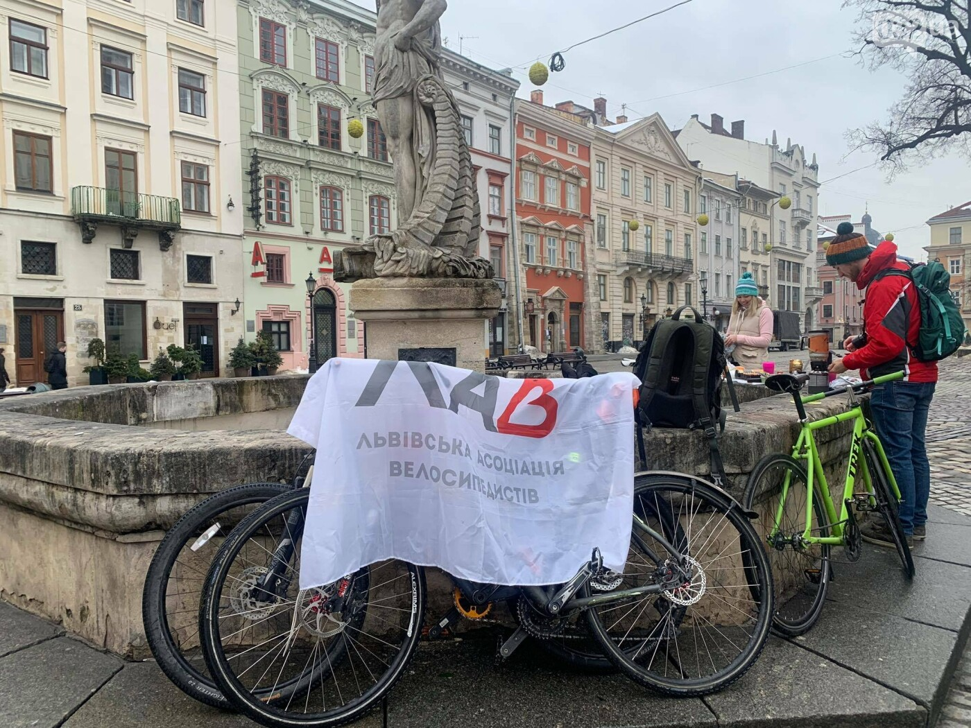 """У Львові влаштували акція """"Велосипедом на роботу"""", Фото - 032.ua"""