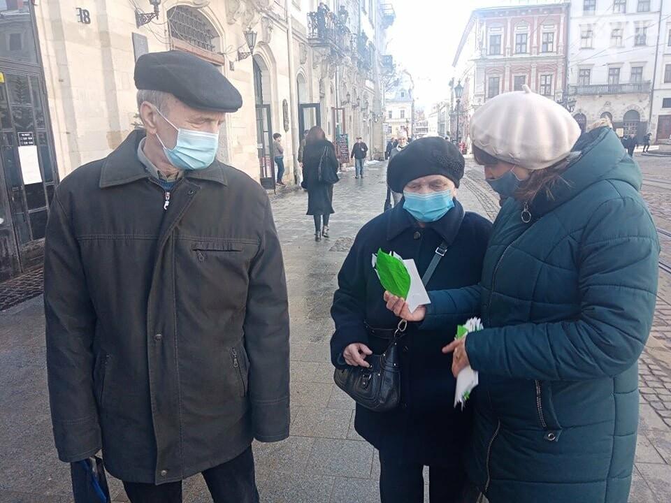 Акція до Всесвітнього дня орфанних захворювань, Фото: 032.ua