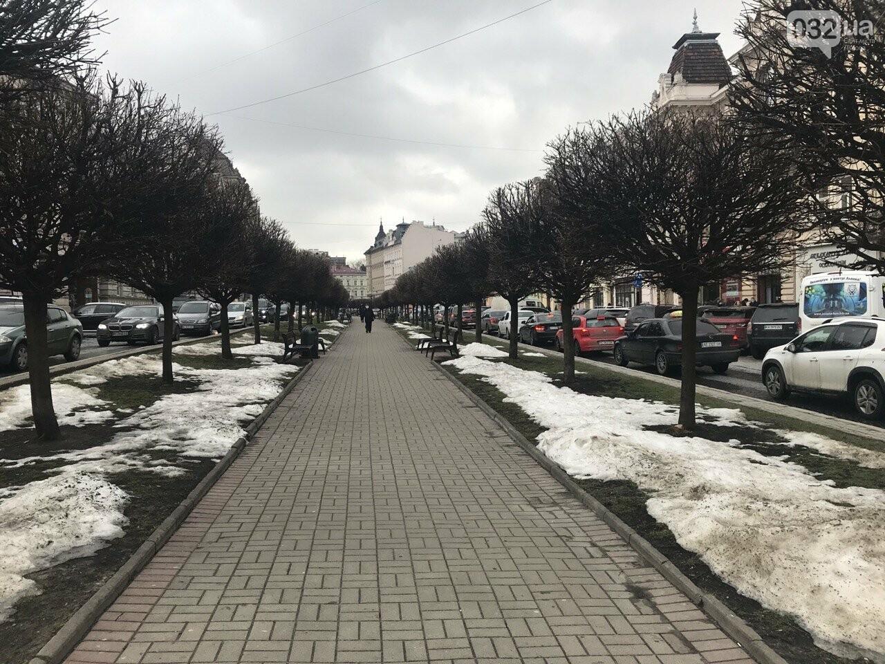 Львів у перший день весни 2021 року, Фото: 032.ua