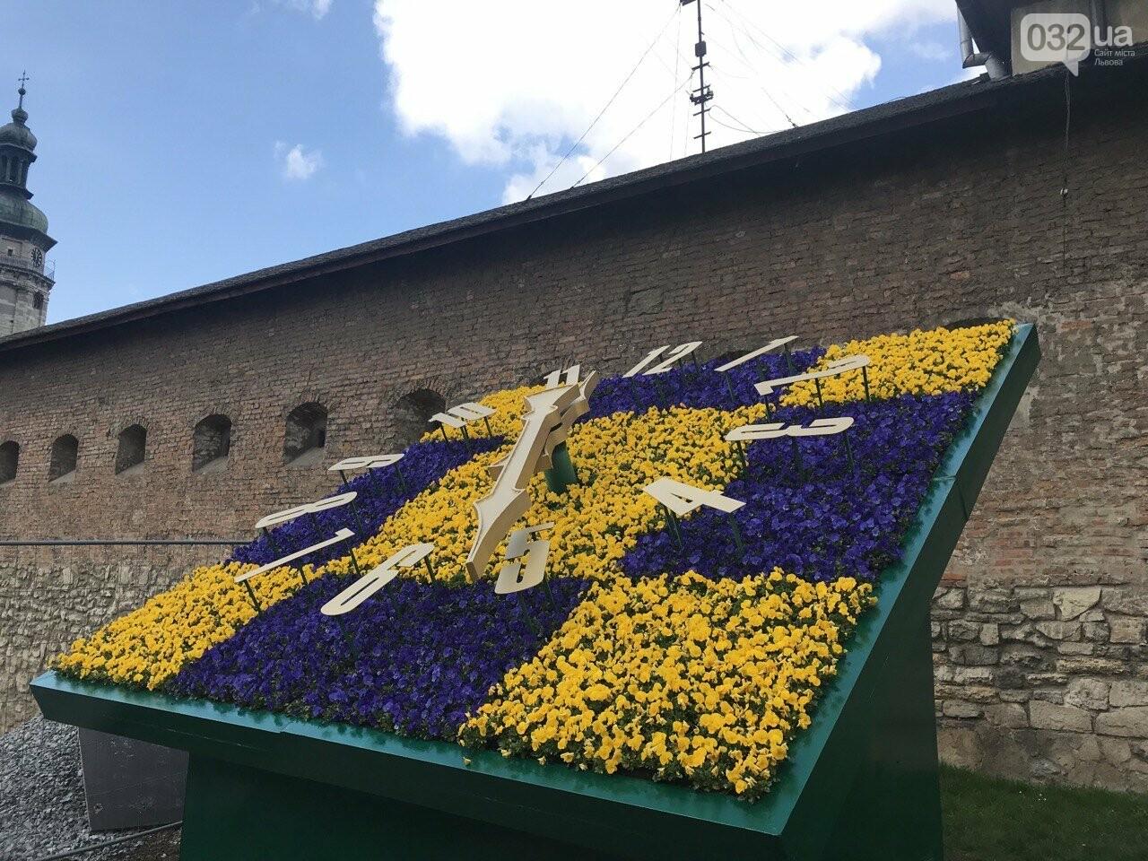 Квітковий годинник, Фото: 032.ua