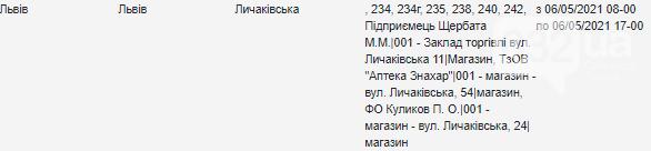 Щотижневий графік відключення електроенергії у Львові, — АДРЕСИ, фото-15