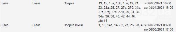 Щотижневий графік відключення електроенергії у Львові, — АДРЕСИ, фото-16