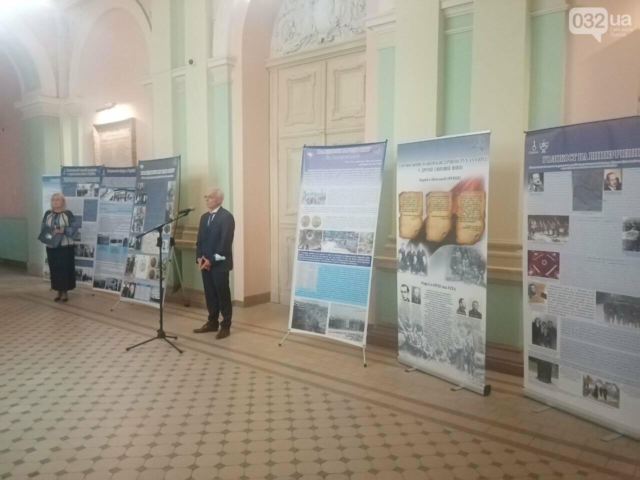 У Львові відкрили виставку, присвячену українцям-рятівникам євреїв під час Голокосту, - ФОТО, фото-5