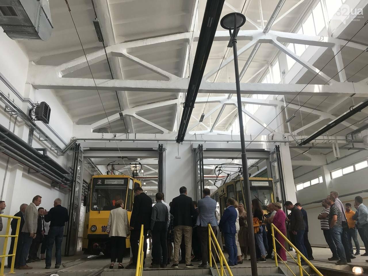 Як виглядає оновлене трамвайне депо на Промисловій, - ФОТО, ВІДЕО, фото-5