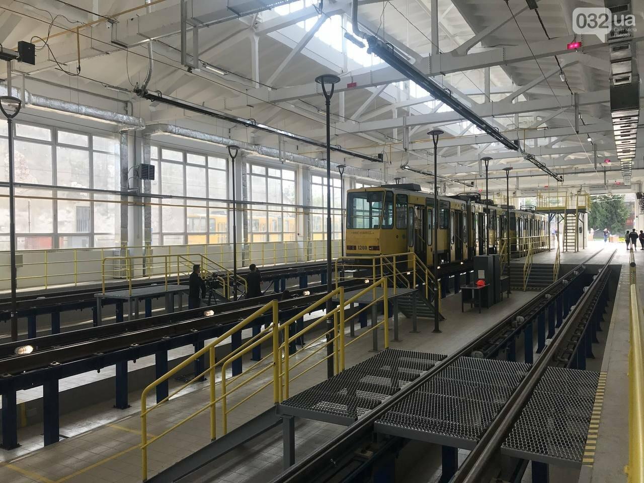 Як виглядає оновлене трамвайне депо на Промисловій, - ФОТО, ВІДЕО, фото-3