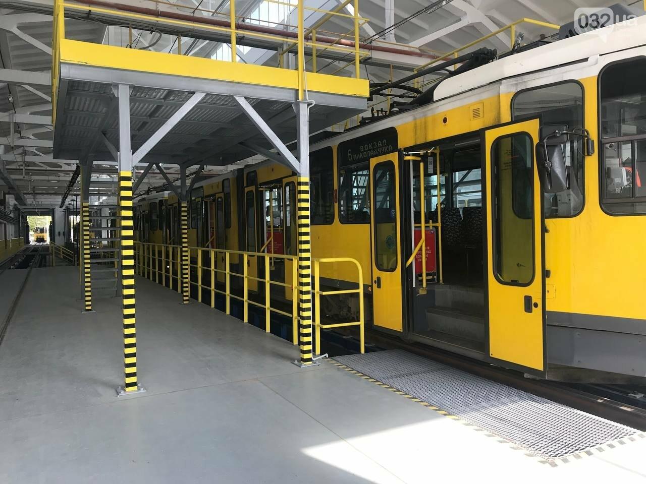 Як виглядає оновлене трамвайне депо на Промисловій, - ФОТО, ВІДЕО, фото-11
