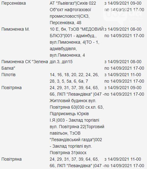 Щотижневий графік відключень електроенергії у Львові, — АДРЕСИ, фото-10