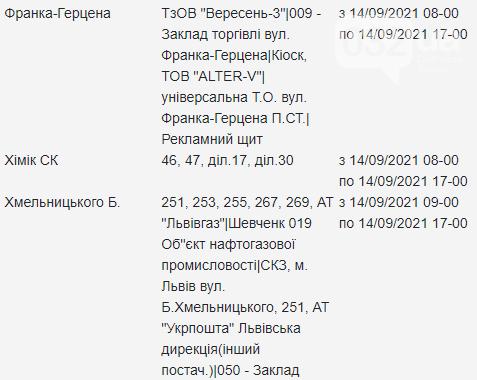 Щотижневий графік відключень електроенергії у Львові, — АДРЕСИ, фото-15