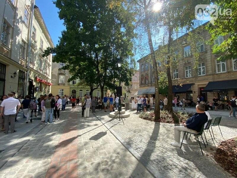 У Львові відкрили оновлену площу Коліївщини, Фото: 032.ua