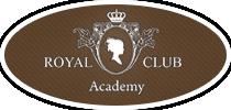Логотип - «Royal Club Academy» - курси перукарів, манікюру, візажу,  татуажу, косметологів, масажні техніки