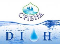 Логотип - Діон, доставка природньої води