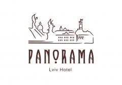 Логотип - Панорама, ресторан та готель