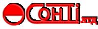 Логотип - Сонті, жалюзі, ролети, ворота