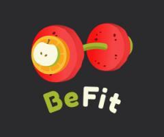 """Логотип - Набори здорового збалансованого харчування """"BeFit"""""""