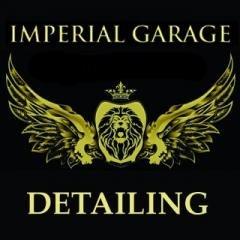 Логотип - Imperial Garage, студія Автодетейлінгу