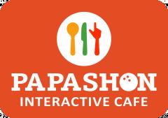 Логотип - Розважальний комплекс Papashon - боулінг, більярд, інтерактивне кафе, бар, концерт-хол