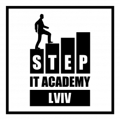 Логотип - IT-Step Academy Львів, комп'ютерні курси, курси IT спеціалістів