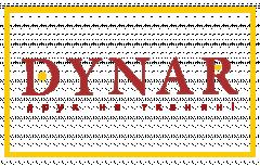 Логотип - ДИНАР, друк на тканині
