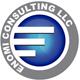 Логотип - Еномі консалтінг - консалтингові, бухгалтерські та юридичні послуги в Україні та Польщі