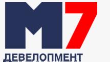 Логотип - М7 Девелопмент - сучасні новобудови у Львові