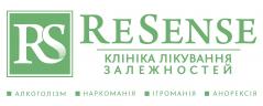 Логотип - Наркологічна клініка РеСенс, лікування наркоманії та алкоголізму у Львові