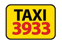 Логотип - Таксі ✆ 3933, служба таксі у Львові