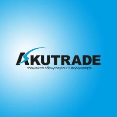 Логотип - Akutrade, акумулятори Львів