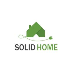 Логотип - SolidHome - встановлення та адміністрування систем безпеки, розумних домів