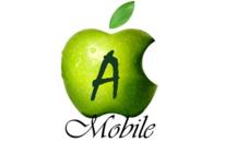 Логотип - Amobil, ремонт та сервіс телефонів