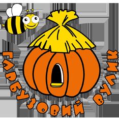 Логотип - Гарбузовий вулик, товари для бджільництва