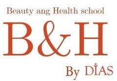 """Логотип - Beauty and health school by """"DIAS"""" - курси перукарів, манікюру, візажу,косметології, масажу у Львові"""