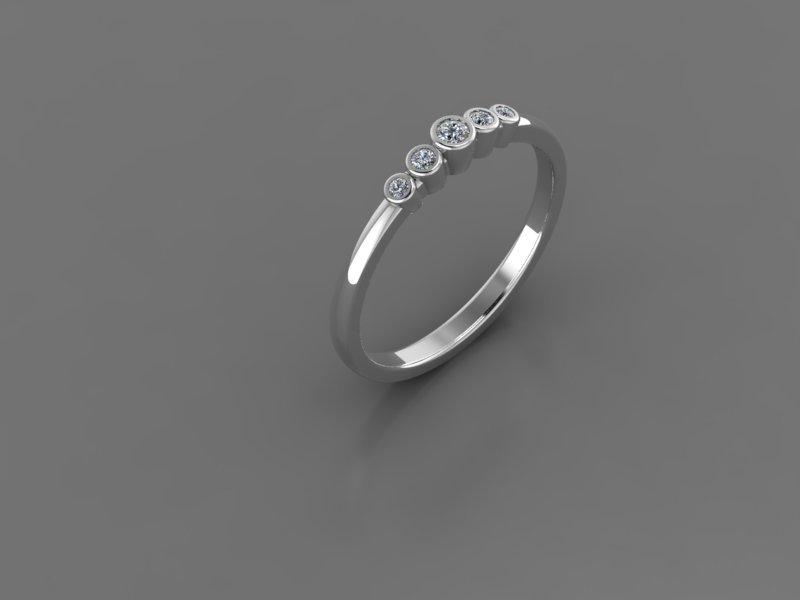 Ювелірні вироби з діамантами на замовлення, фото-17