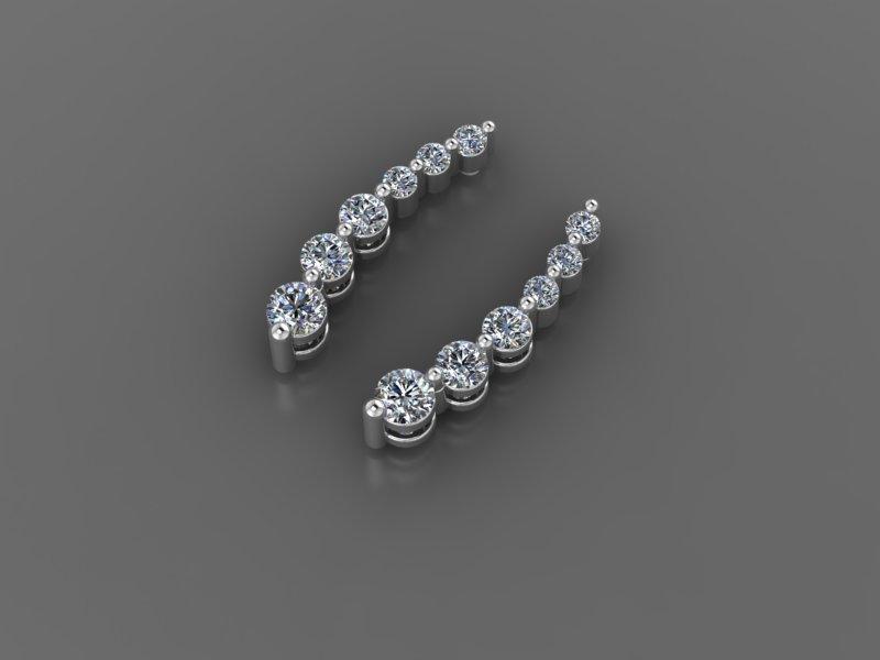 Ювелірні вироби з діамантами на замовлення, фото-55