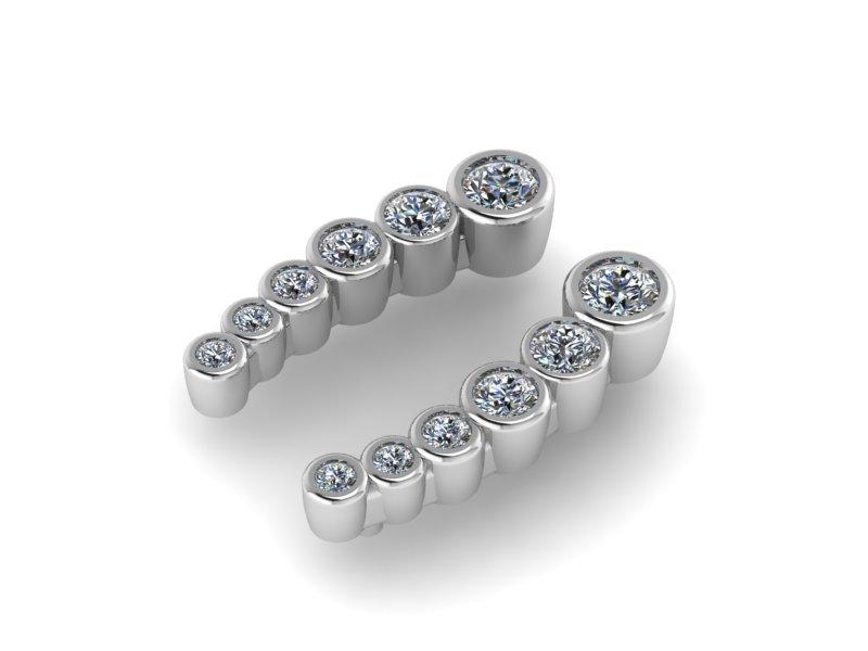 Ювелірні вироби з діамантами на замовлення, фото-30