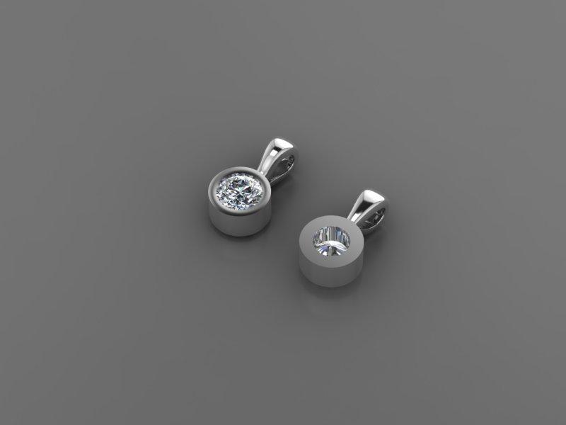Ювелірні вироби з діамантами на замовлення, фото-78