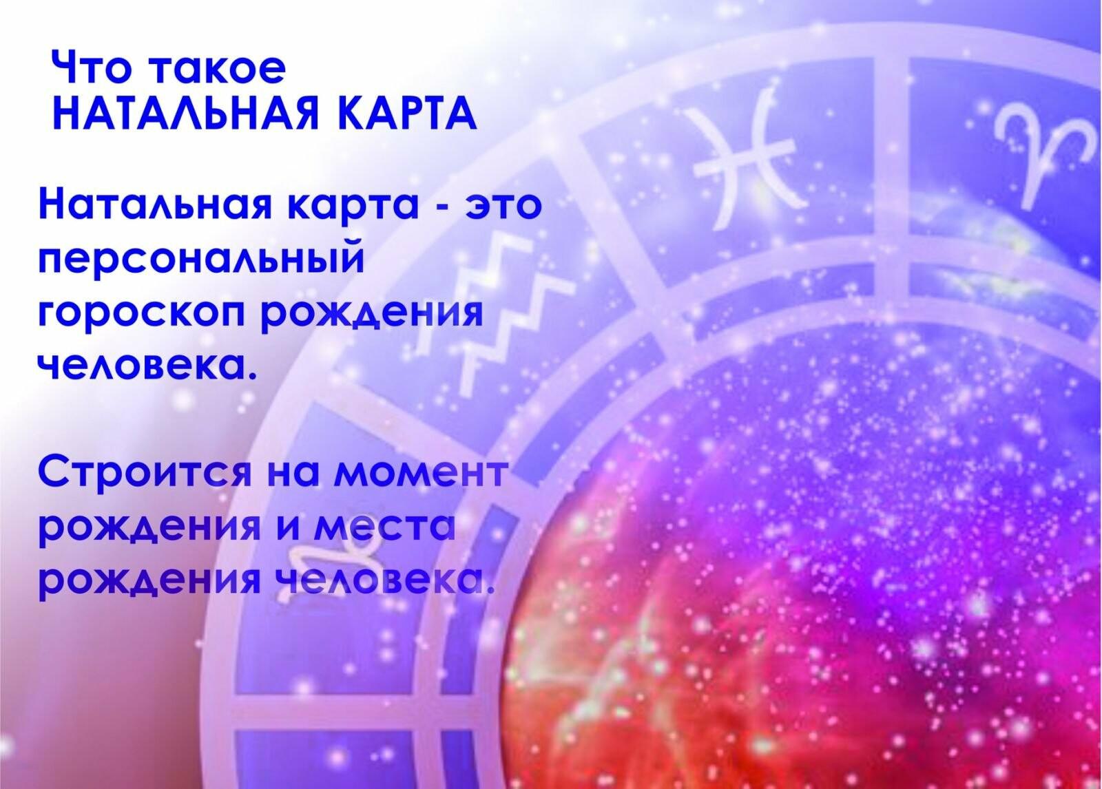 НАТАЛЬНА КАРТА , фото-1