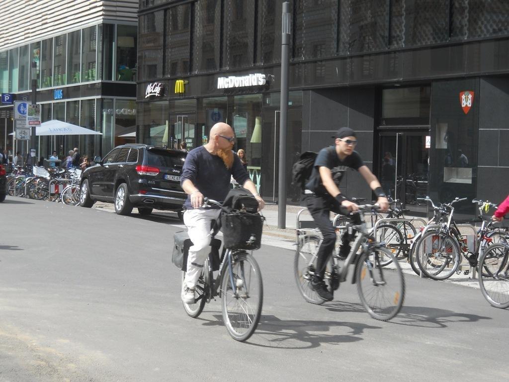 Велоспипедні доріжки в Німеччиі