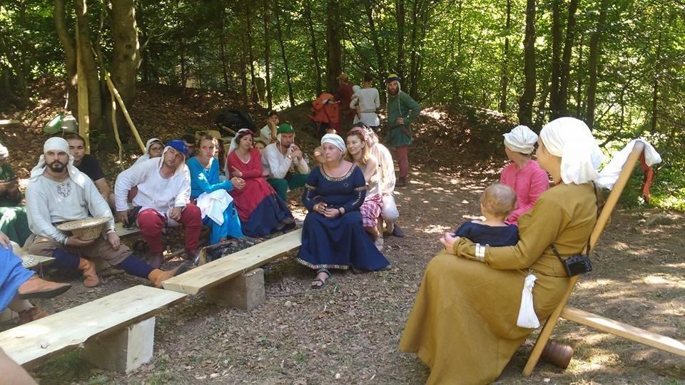 Як на Львівщині вдванадцяте відбувся фестиваль у стилі Середньовіччя. Фото, фото-4