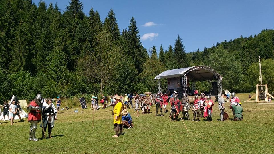 Як на Львівщині вдванадцяте відбувся фестиваль у стилі Середньовіччя. Фото, фото-5