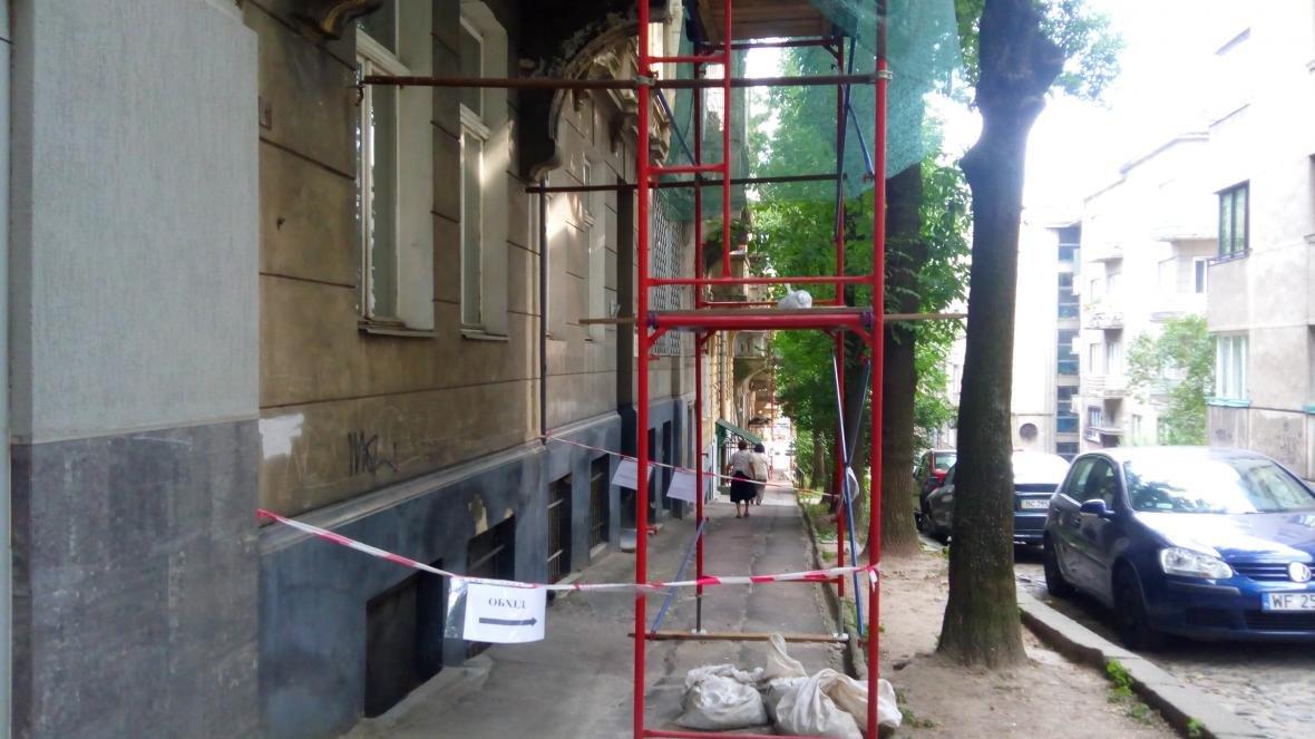 Завдяки зверненню мешканців, відреставрують кілька балконів у центрі міста, фото-2