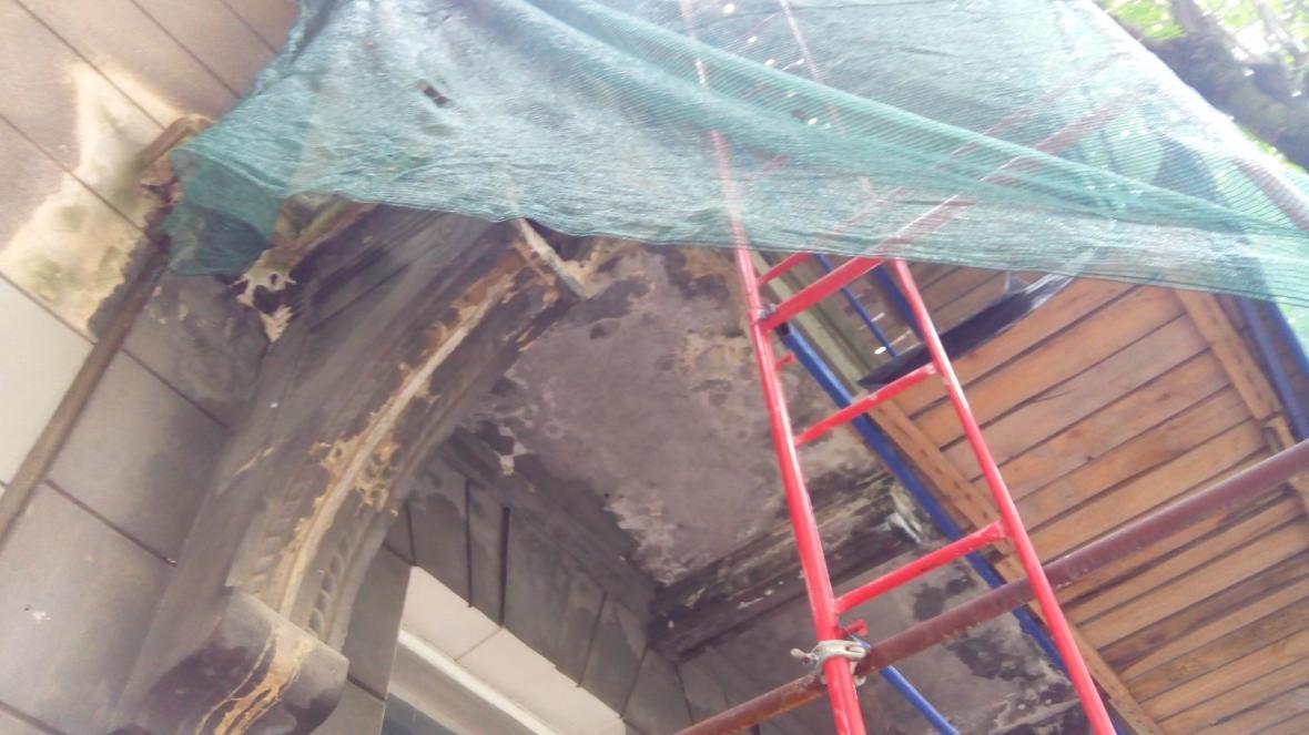 Завдяки зверненню мешканців, відреставрують кілька балконів у центрі міста, фото-1