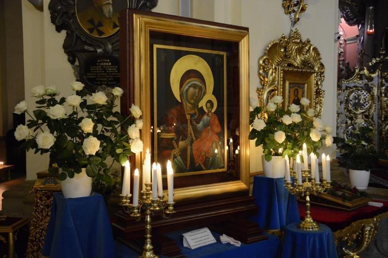 До Собору св. Юра привезли чудотворну ікону Пресвятої Богородиці Львівської, фото-1