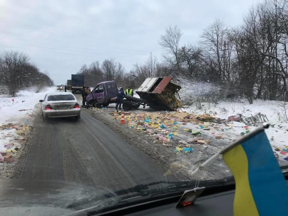 На трасі Львів - Східниця автобус зіткнувся з вантажівкою: є постраждалі (ФОТО), фото-1, Фото: Варта-1/Facebook