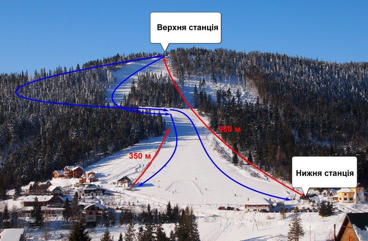 Куди поїхати на лижі: огляд місць в радіусі до 135 км від Львова , фото-7