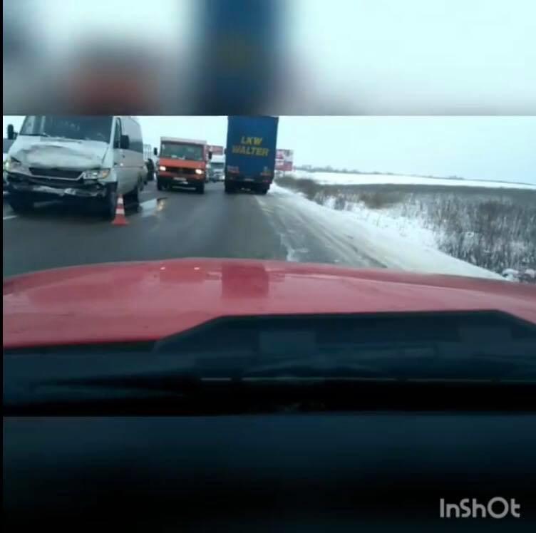 На кільцевій дорозі Львова сталася аварія за участі 4 авто. Фото, фото-2, Фото: патрульна поліція Львівщини та Ігор Зінкевич