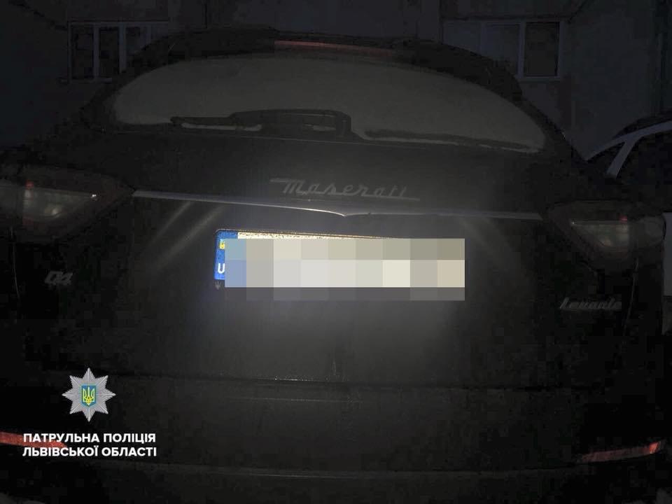 За ніч у Львові впіймали десяток п'яних водіїв. Фото, фото-1, Фото: патрульна поліція Львівщини