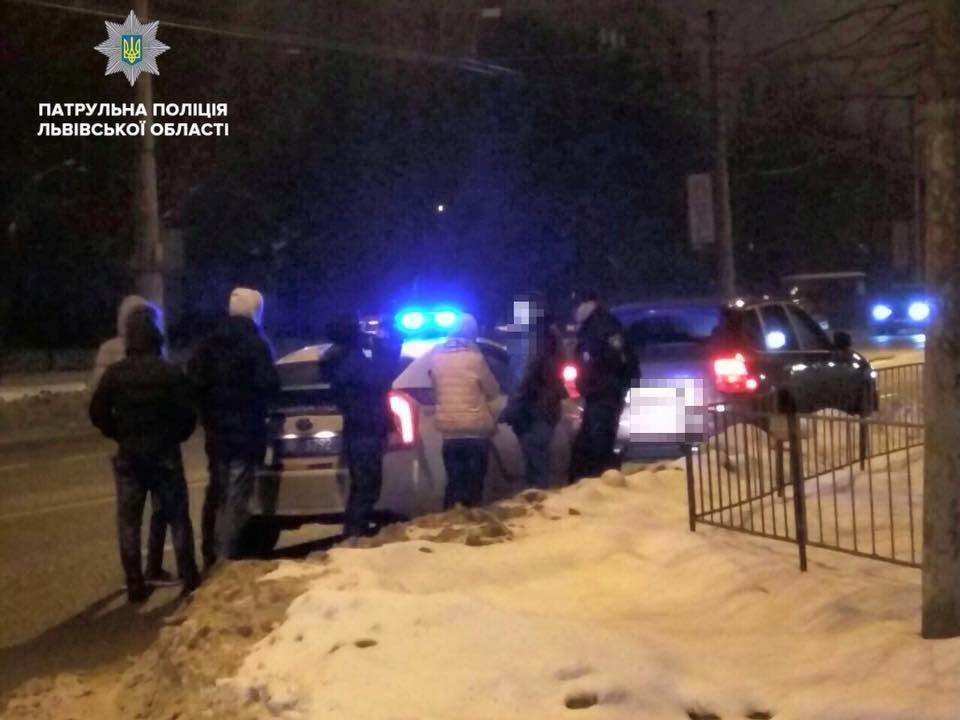 За ніч у Львові впіймали десяток п'яних водіїв. Фото, фото-3, Фото: патрульна поліція Львівщини