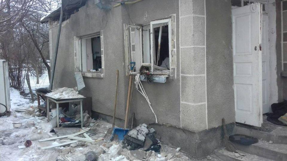 У Золочеві у приватному будинку стався вибух газу: є потерпілі. Фото, фото-2, Фото: ГУ Нацполіції Львівщини